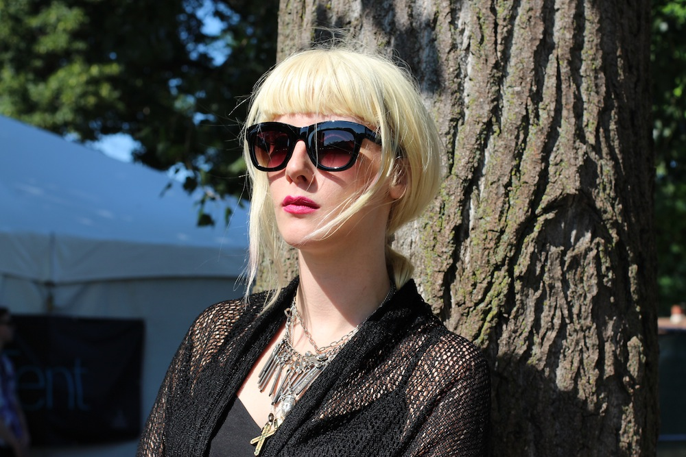 Mish Way White Lung at Pitchfork