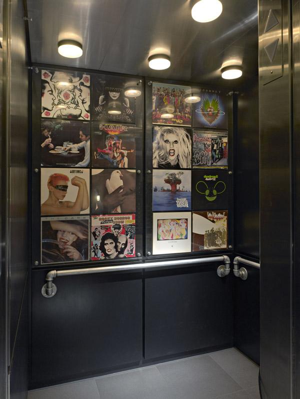 ACME Hotel Company Chicago Elevator Art