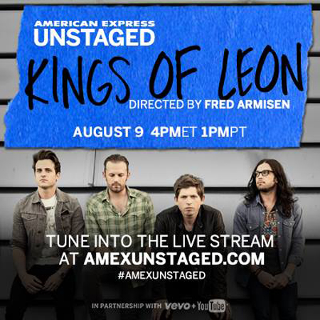 Amex UNSTAGED Kings of Leon Fred Amisen
