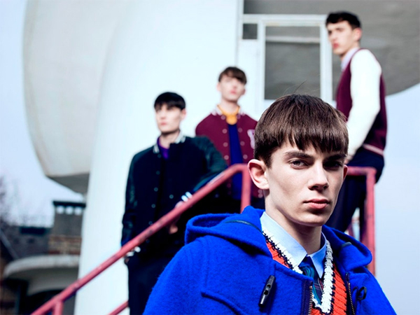Raf Simons x Fred Perry Fall Winter 2013 Lookbook