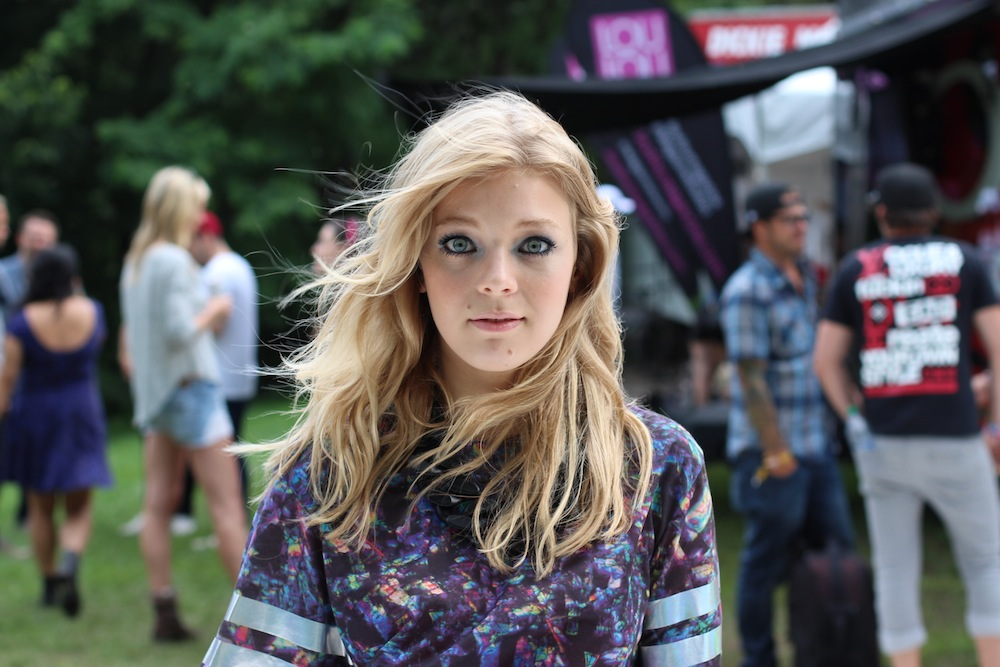 Osheaga Style 2013 Rudimental Becky Hill Close
