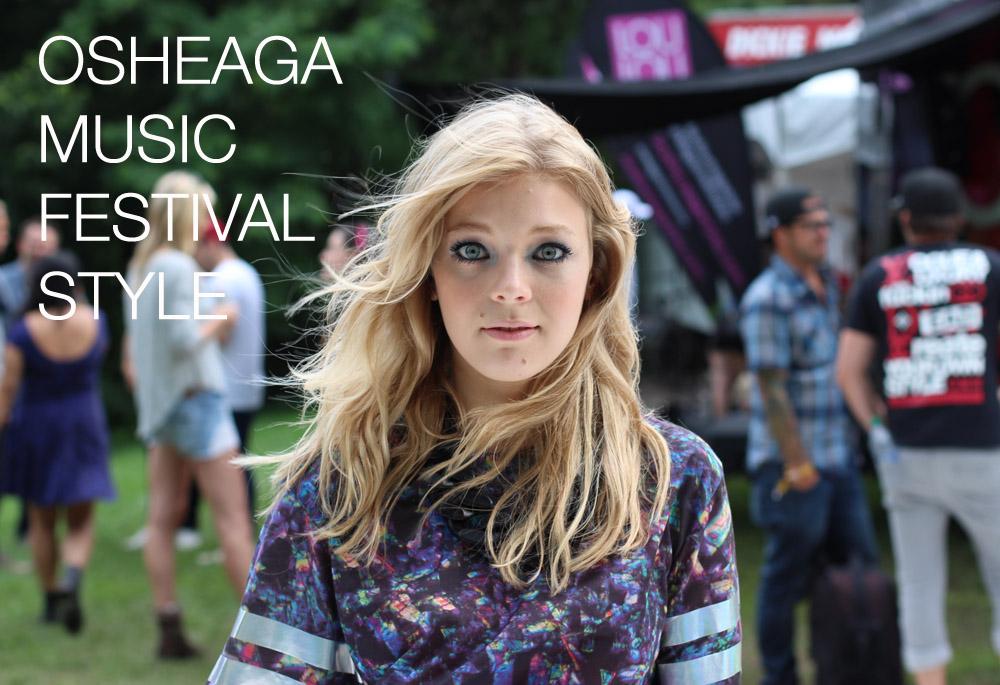 Osheaga Style 2013 - Rudimental Becky Hill