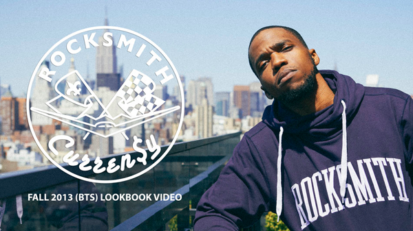 Rocksmith Behind-the-Scenes of the Fall 2013 Lookbook featuring Currensy