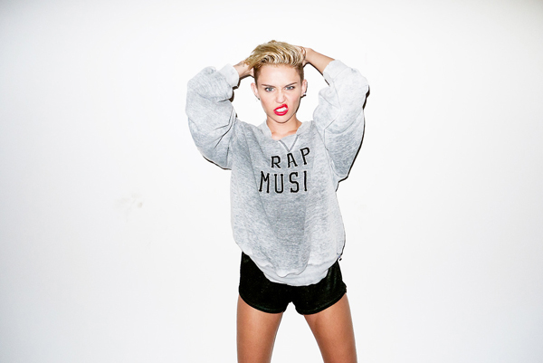 Miley Cyrus photographed by Terry Richardson