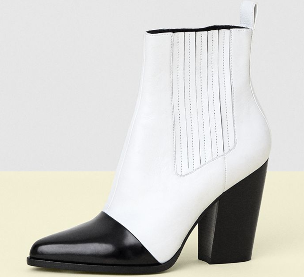 Kenzo Leather Ankle Boot