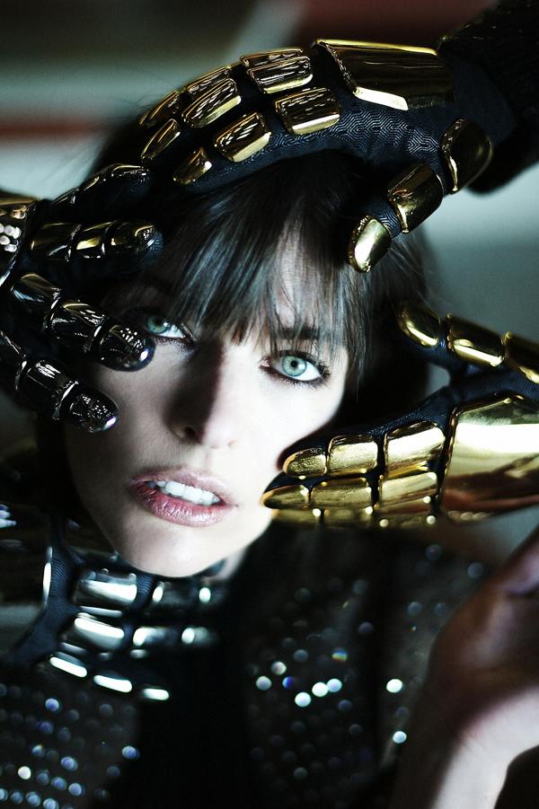 Daft Punk Milla Jovovich for CR Fashion Book