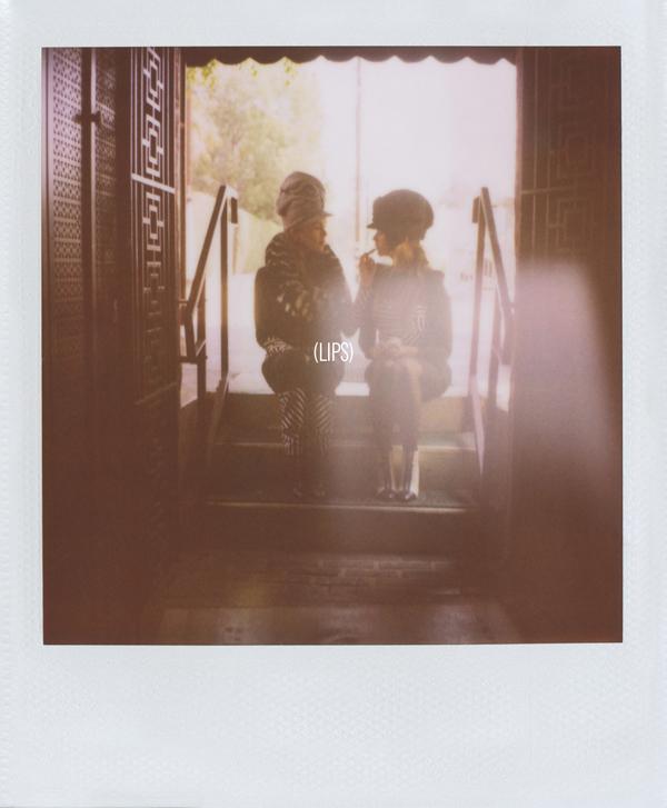Rashida Jones Kidada Jones in Band of Outsiders Fall 2013