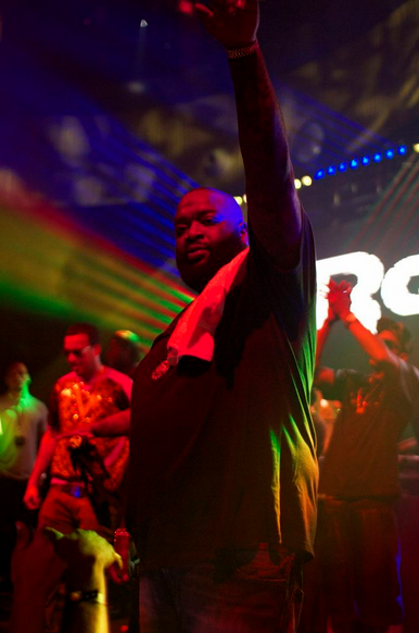 Reebok Classic concert at Project Las Vegas-Rick Ross