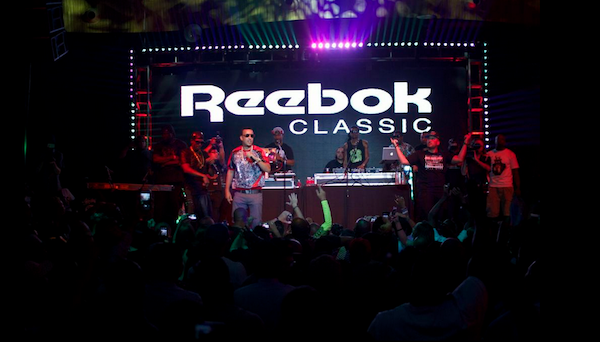 Reebok Classic concert at Project Las Vegas