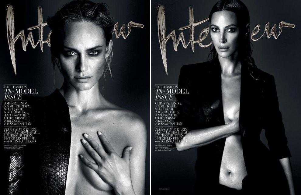 Karlie Kloss, Alessandra Ambrosio, Daria Werbowy, Miranda Kerr + more for Interview Magazine September 2013-3