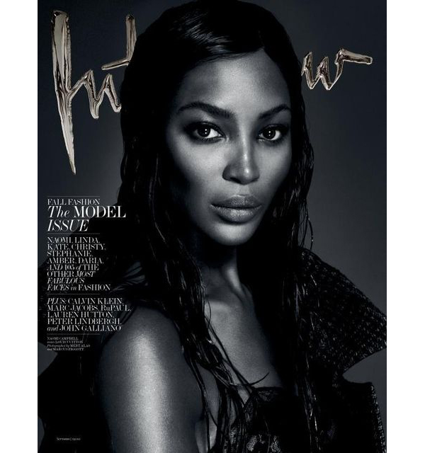 Naomi Campbell for Interview Magazine September 2013-4