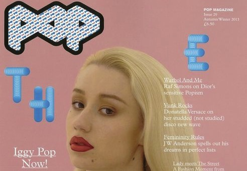 Iggy Azalea POP Magazine September 2013
