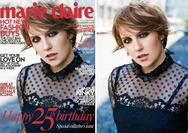 Lena Dunham for Marie Claire October 2013-3