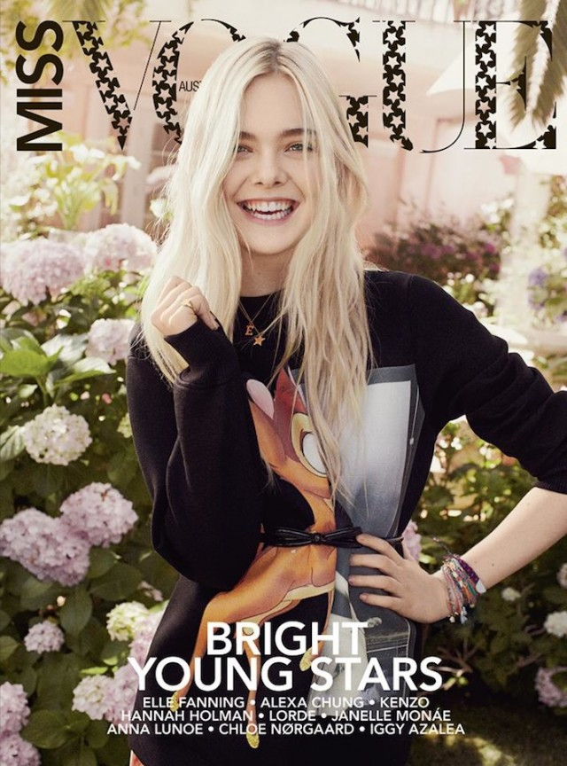 Elle Fanning for Miss Vogue Australia