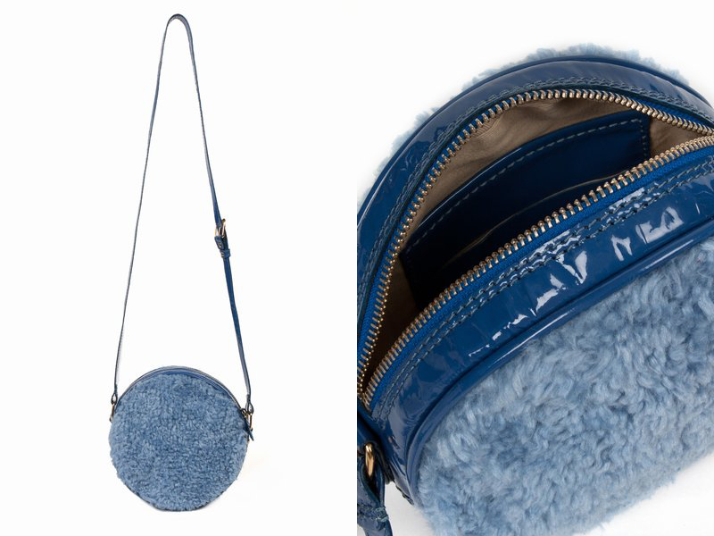 Chloe Sevigny for Opening Ceremony Faux Fur Circle Bag-2