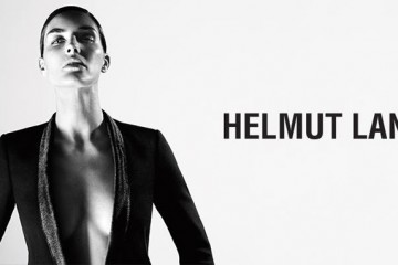 Hilary Rhoda for Helmut Lang Fall Winter 2013 Campaign