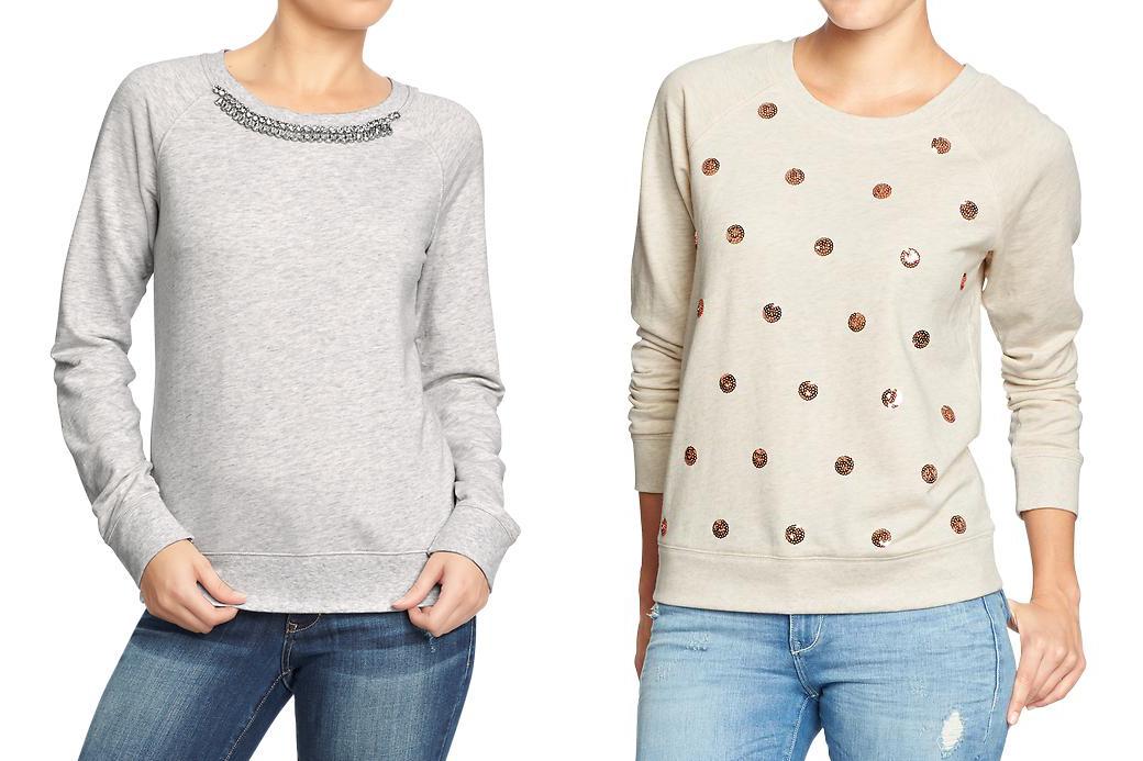 Old Navy Sweaters Jewel Sequin
