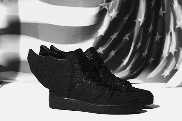 adidas wings black flag