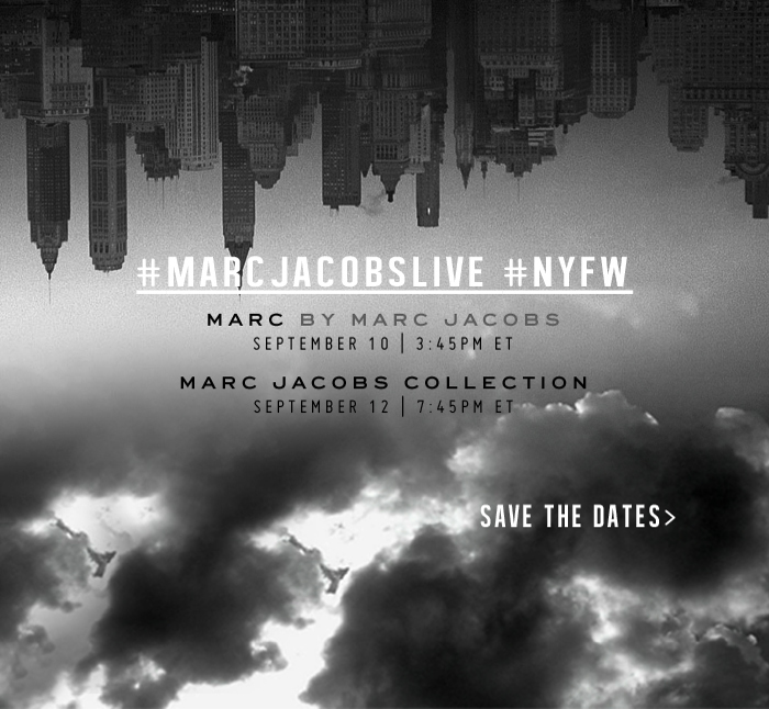 Marc Jacobs NYFW Spring 2014 Livestream
