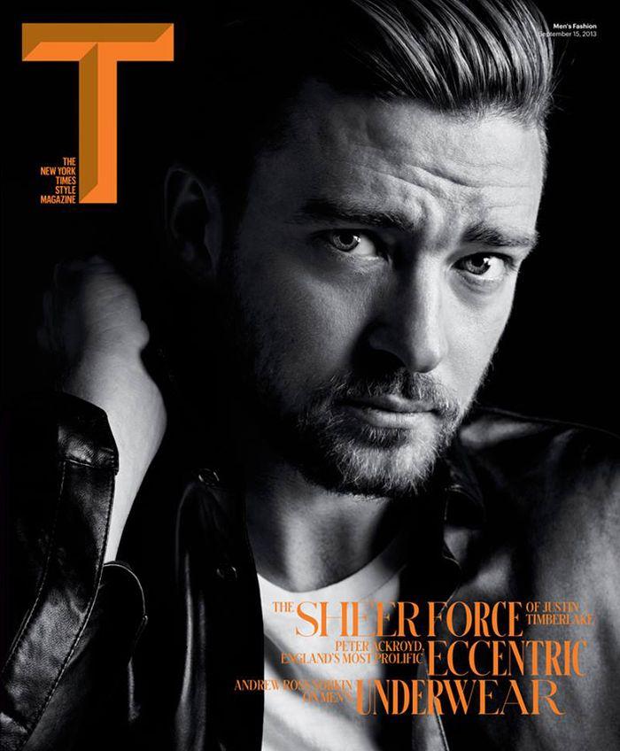 Justin Timberlake T Magazine