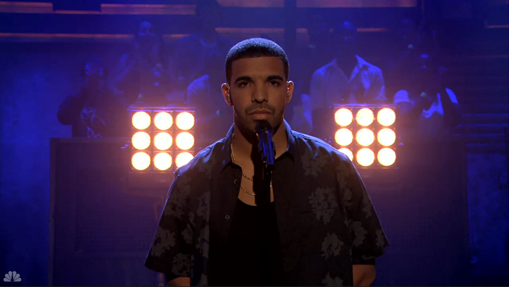 Drake Sampha Too Much on Late Night With Jimmy Fallon