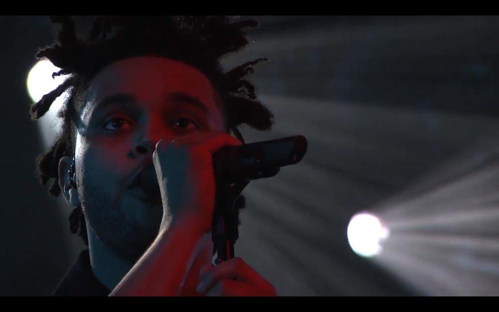 The Weeknd Pretty on Jimmy Kimmel Live