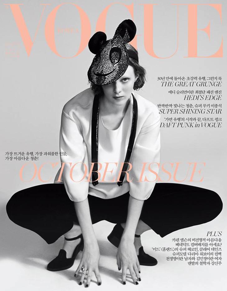 Karen Elson for Vogue Korea