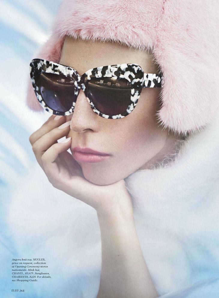 Lady Gaga for Elle October 2013-2