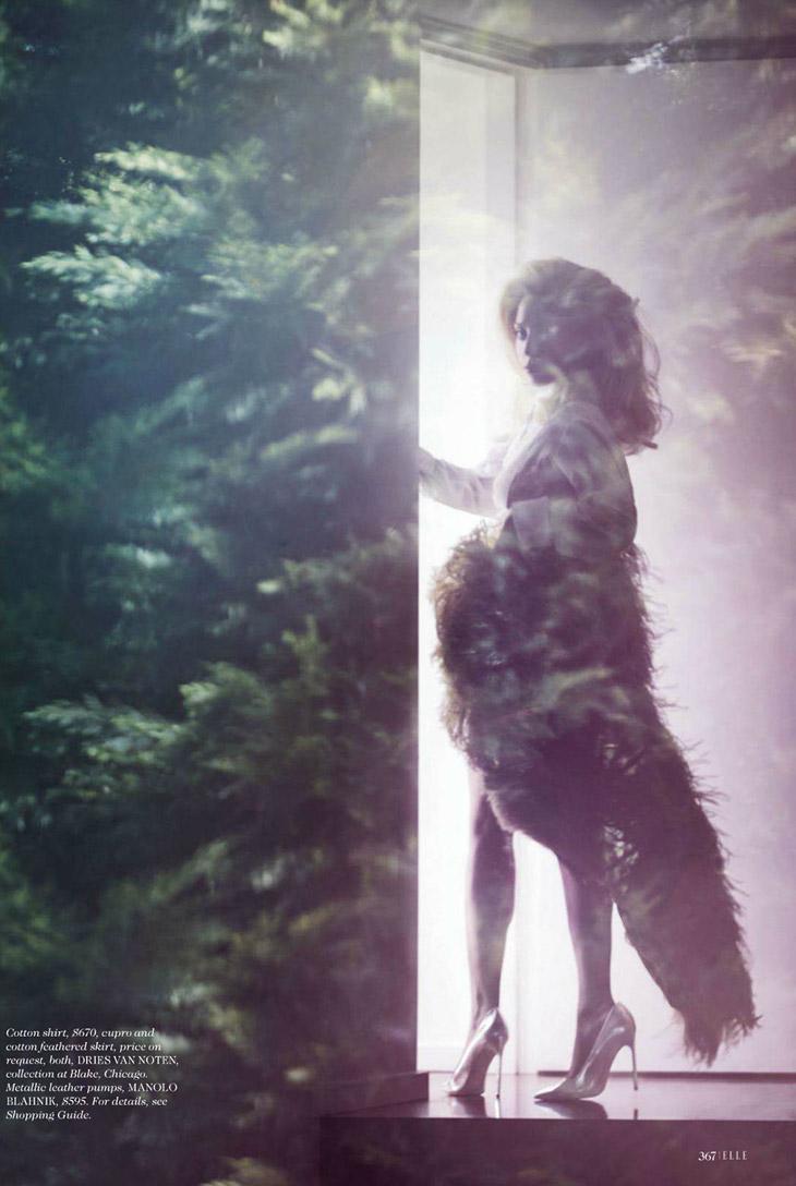 Lady Gaga for Elle October 2013-4