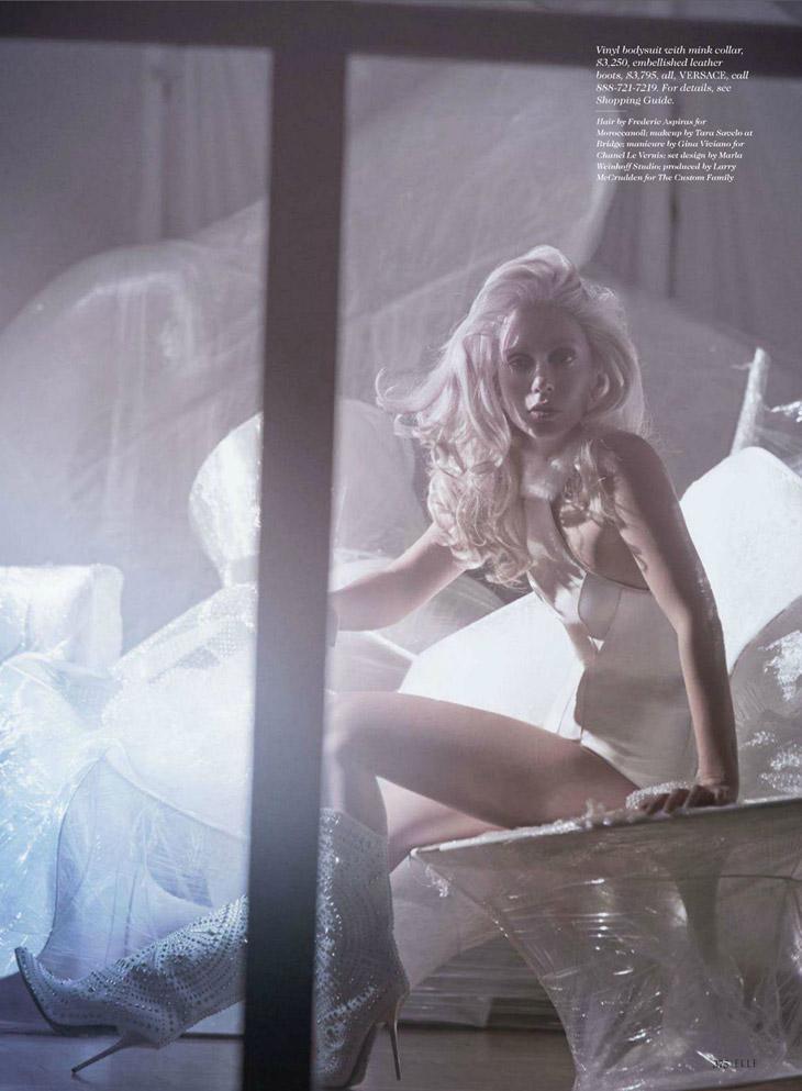 Lady Gaga for Elle October 2013-9