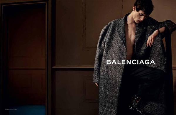 Balenciaga Fall Winter 2013 Mens Campaign