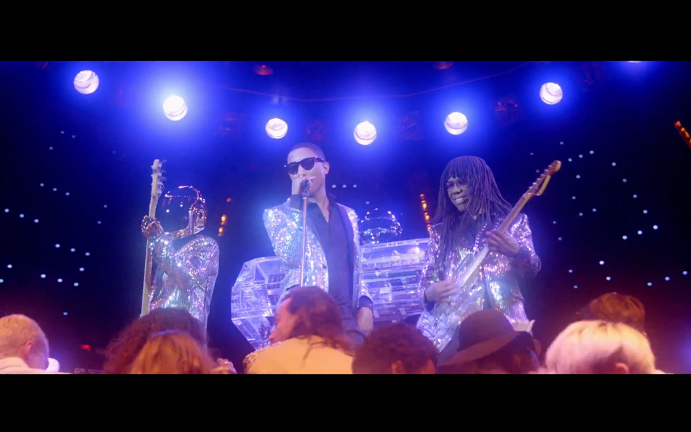 Daft Punk Lose Yourself to Dance  Pharrell Nile Rodgers Video