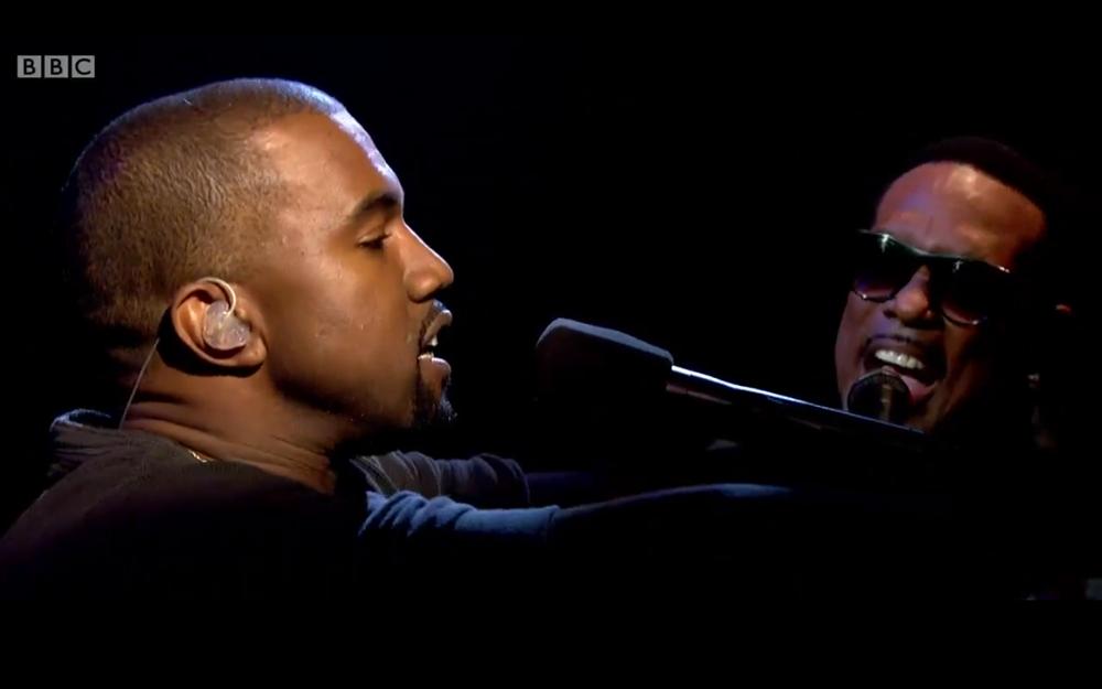 Kanye West New Slaves Blood on the Leaves live Jools Holland