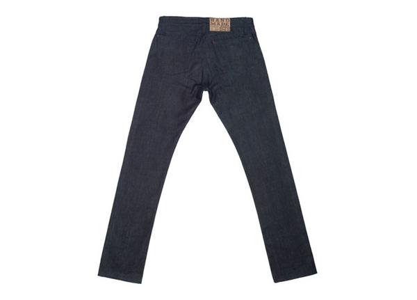 Shockoe Denim Old Boy Tonal Slim Jeans - Back