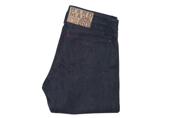 Shockoe Denim Old Boy Tonal Slim Jeans - Fold