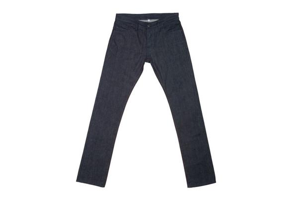 Shockoe Denim Old Boy Tonal Slim Jeans - Full On