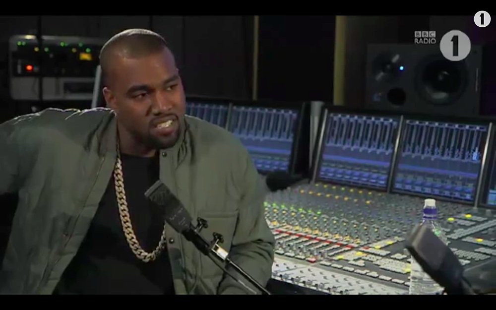 Kanye West Interview with BBC Radio 1 Zane Lowe pt3