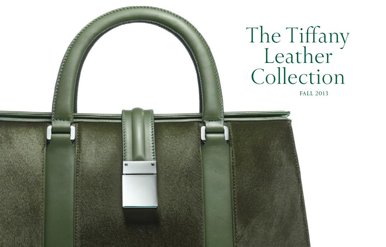 Tiffany Leather Fall 2013
