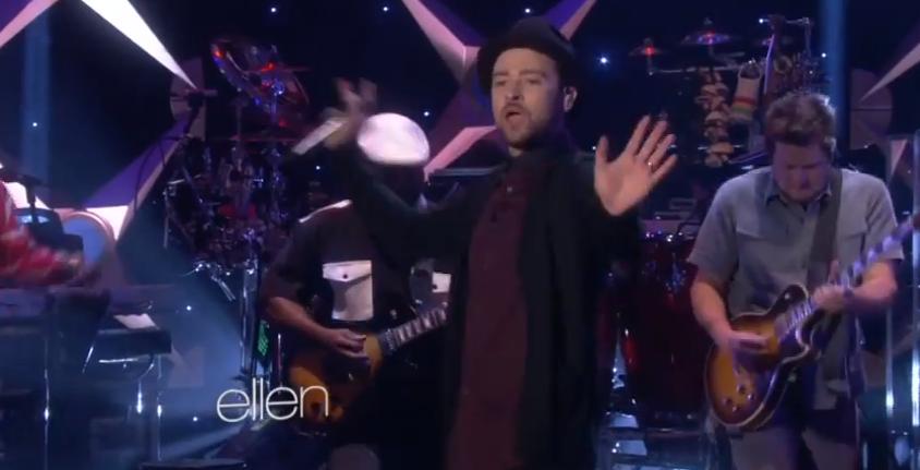 Justin Timberlake ellen