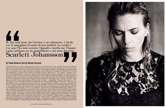 Scarlett Johansson for Vogue Italia October 2013-2