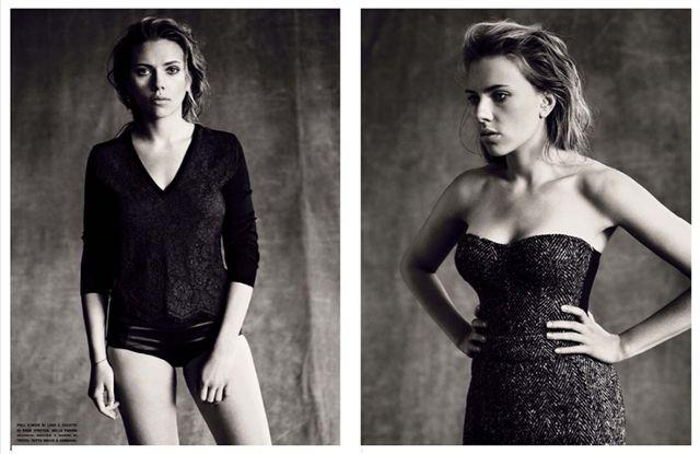 Scarlett Johansson for Vogue Italia October 2013-3