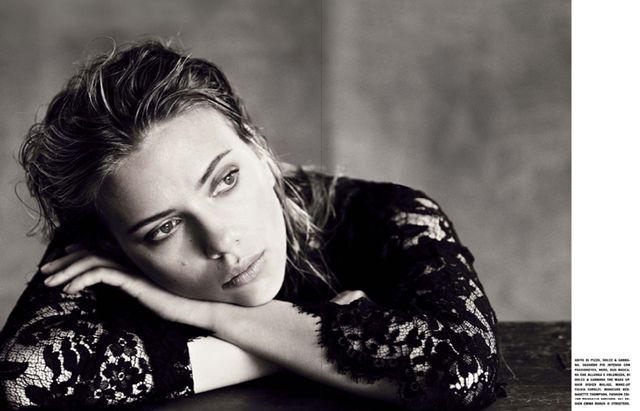 Scarlett Johansson for Vogue Italia October 2013-4