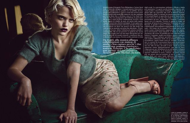 Sky Ferreira for Vogue Italia October 2013-3