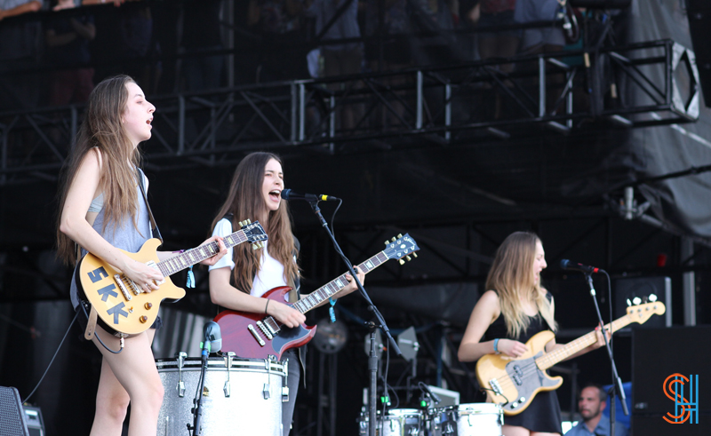 Haim Edge Co-Written Twin Shadow at-Governors-Ball-2013
