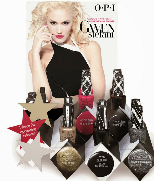 Gwen Stefani for OPI-2