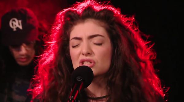 Lorde on CBC Radio Q