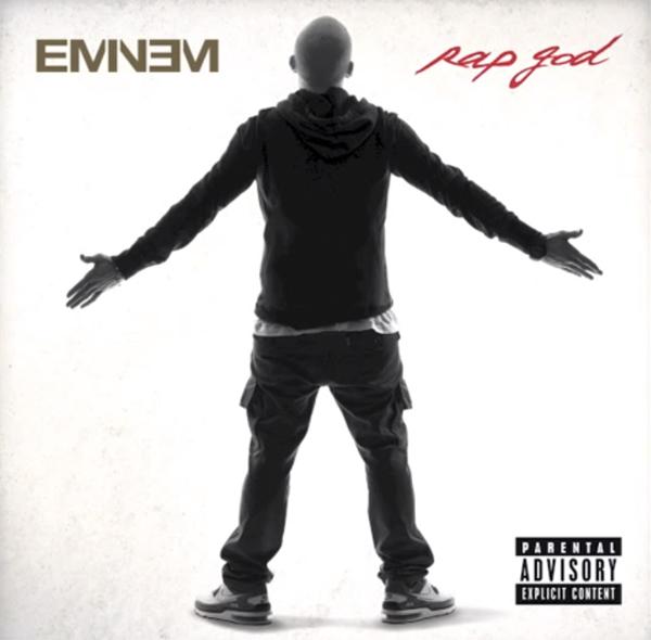 Eminem Rap God Album Art