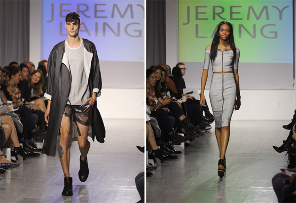 Jeremy Laing Spring Summer 2014 the shOws Toronto