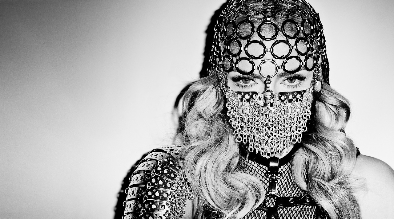 Madonna by Terry Richardson Harpers Bazaar - Mask
