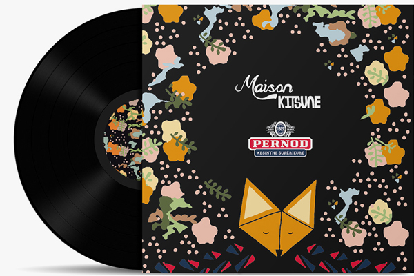 Pernod Absinthe x Maison Kitsune Limited Edition Collaboration